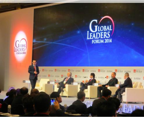 Tony Seba Speaking at the Global Leaders Forum, Seoul, Korea, Nov 19th, 2014
