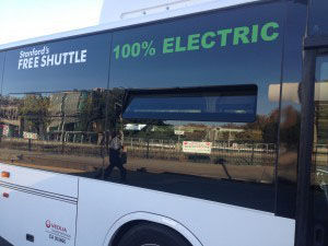 Electric Bus Stanford University
