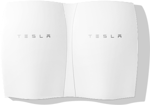 Powerwall: Multiple batteries may be installed together.
